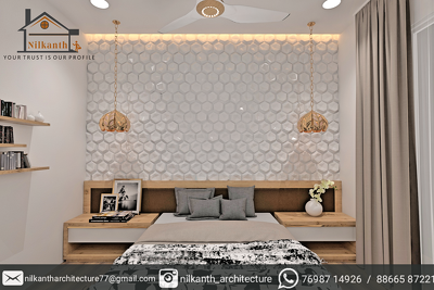 Provide interior design 2d layout and 3d model for resident