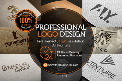 Premium Logo Design with Unlimited Concept & Revision [50% OFF]