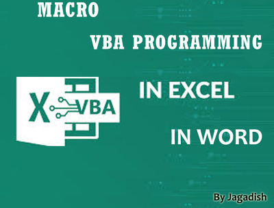 Develop Excel Macro using VBA to automate a work