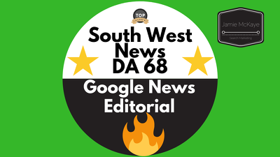 Provide an Editorial Guest Post on South West News DA 68