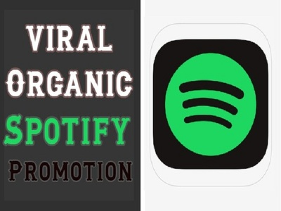 Do Organic Viral Spotify Promotion with 2500 plays