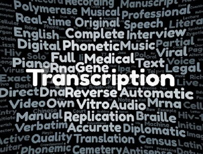 Deliver a quality transcript for a 30 minutes audio or video