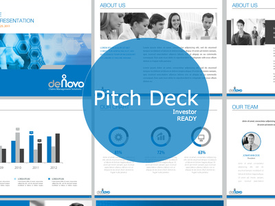 Investor Ready Pitch Deck - Win Your Funding!