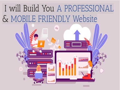 Build Professional Wordpress  Mobile Friendly Website