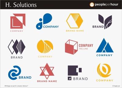 Unique & Custom Made Logo with free revisions & artwork Files