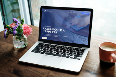 Create Car Wash Website Design In 72 Hours