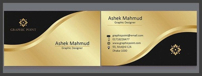 Design a 2 sided Business Card