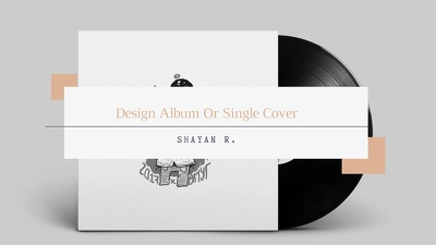 Design creative Album Or Single Cover