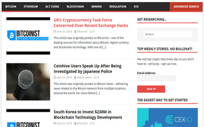 Will Create Automated Crypto News Website
