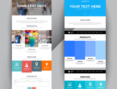 Create and design wordpress unbounce and converting landing page
