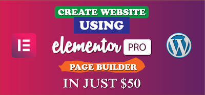 Create any wordpress theme using Elementor pro page builder