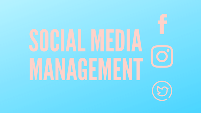 Manage a social media page of your choice for 5 days