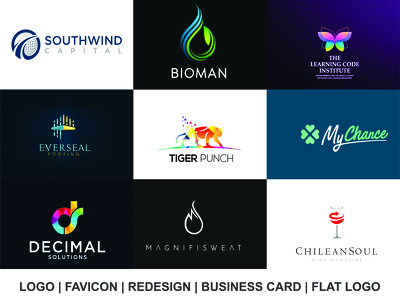 Design premium LOGO with FREE favicon and unlimited revisions