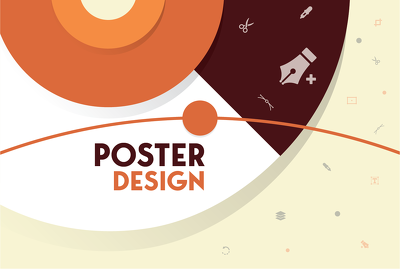 I will create unique commercial poster, flyer, banner design