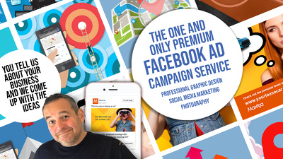 Design 5 bespoke original eyecatching facebook ads