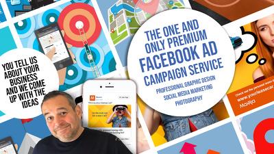 design 5 bespoke original eyecatching facebook ads