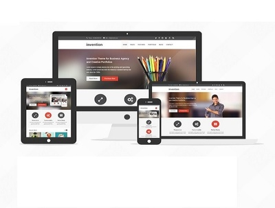 Design Responsive, Professional, and Mobile first Website