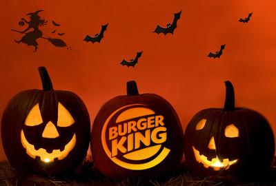 Carve Your Logo On A Halloween Pumpkin