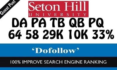 write and Post on  SetonHill.edu - Seton Hill University