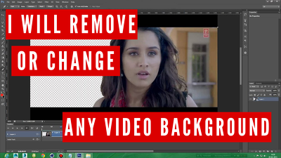 Remove or change any background from your video