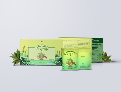 Design a packaging or product label