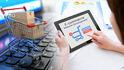 Create Professional E-commerce  website for your Online Shop
