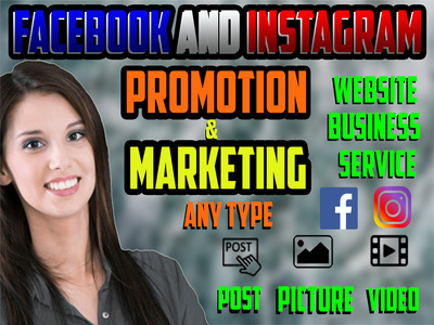 Promote Facebook and Instagram any Product Marketing