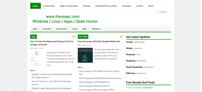 publish a guest post on ihaveapc.com – DA 46