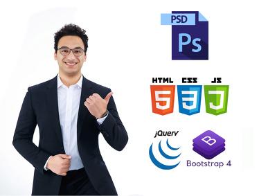 convert a complex PSD to HTML