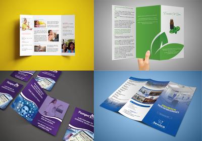 Create a professional brochure (Unique and custom)