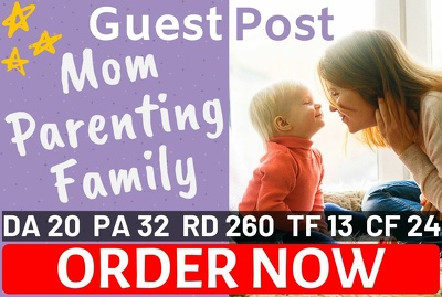 guest post your article on mom parenting family blog that I OWN