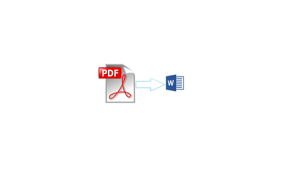 Convert Pdf to word document and word to Pdf file,edit & format