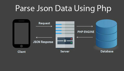 Parse json, rest api data using PHP