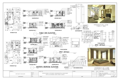 Prepare architectural drawings plans or covert pdf files to cad