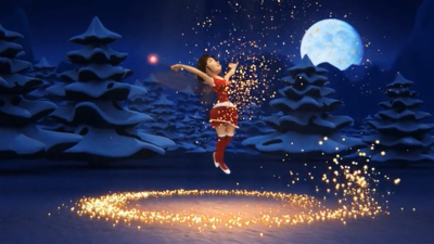 Create This Christmas Intro Video