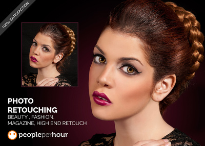 Do photo Retouch your images professionally 2 photos