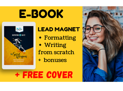 Create you a high converting ebook with FREE cover