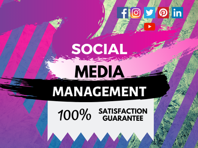 Manage All Social Media Accounts for 1 Month