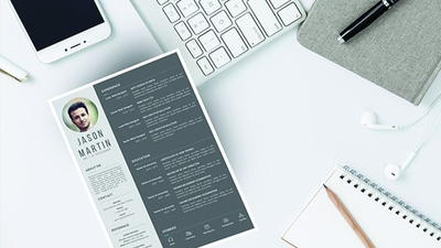 Write, edit, optimize and design a professional CV and resume