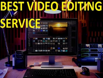 Do professional video and audio editing