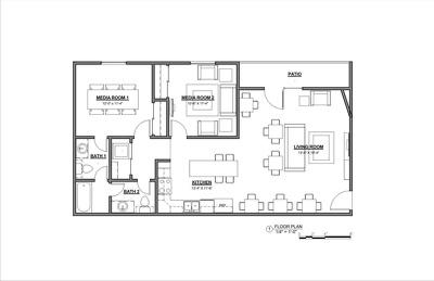 Design your architecture floor plan in autocad