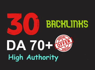 30 Backlinks from the Top 30 Websites