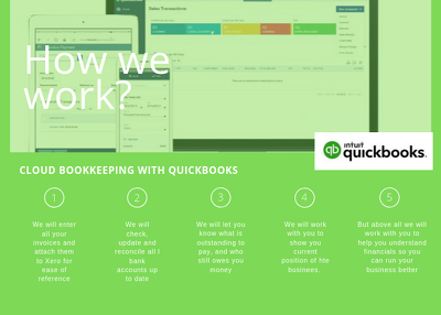 Provide Quickbooks bookkeeping