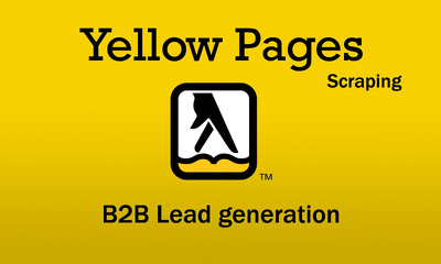 Give you a list of business leads from yellow pages (500-2000)