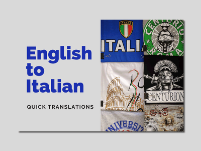 Perform translations from English to Italian up to 800 words