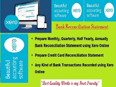 Reconcile 100 transactions on your Bank Account using Xero