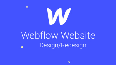 Create or redesign responsive webflow website