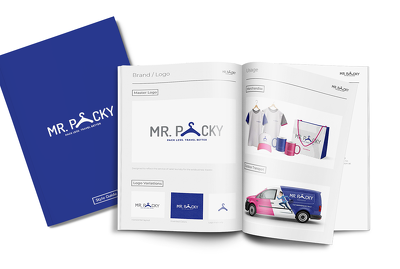 Create your Corporate Identity Book or Style Guide