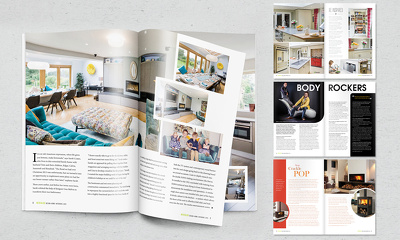 Design your professional magazine layout or article