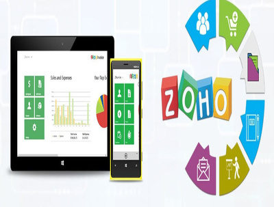 Setup and customize your ZOHO CRM, Creator, Books, Reports